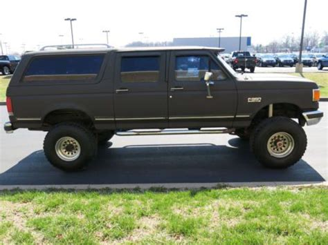 Sell Used Ford Bronco Xlt Centurion Door Ton Suv