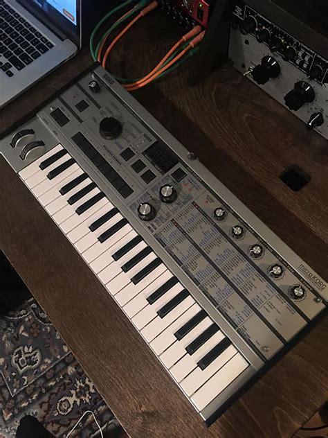 korg microkorg synthesizer vocoder platinum limited