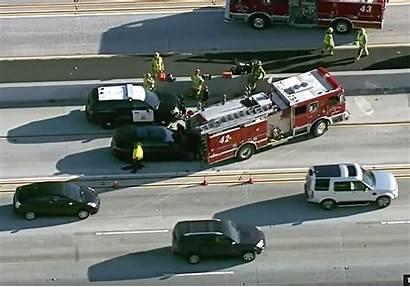 Tesla Fire Truck Crash Crashes Autopilot Firetruck