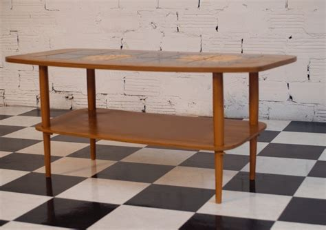 light colored coffee table coffee table vintage 60s light wood color black