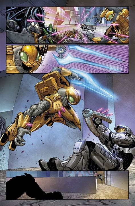 Another Page From Halo Blood Line 3 Written Fred Van