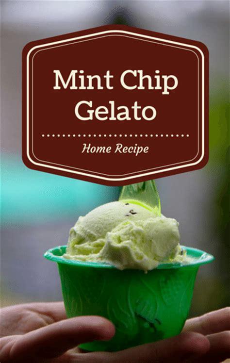 fresh mint chip recipe the talk curtis stone fresh mint chip gelato recipe