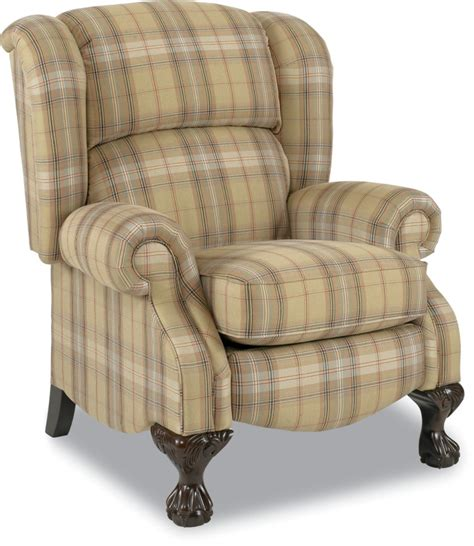 Plaid Recliner by Buchanan Recliner Town Country Furniture