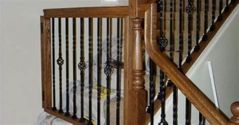 baby gate banister white oak banister baby gate baby gates styled to match