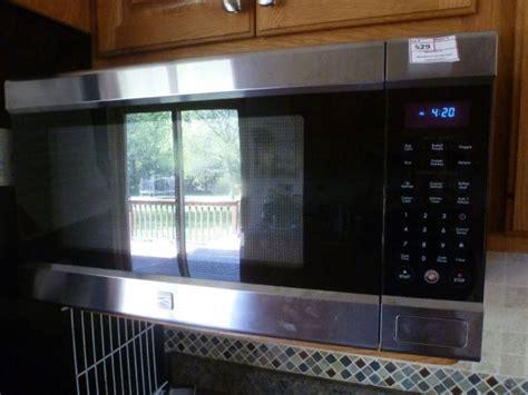 kenmore elite microwave counter top model