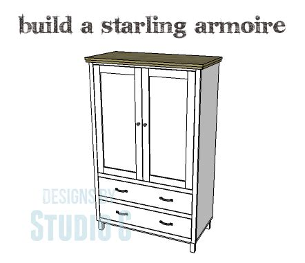 Build A Beautiful Armoire With Lots Of Storage