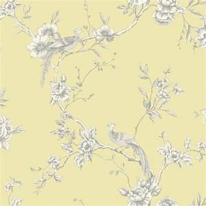 Arthouse Opera Chinoise Yellow Wallpaper