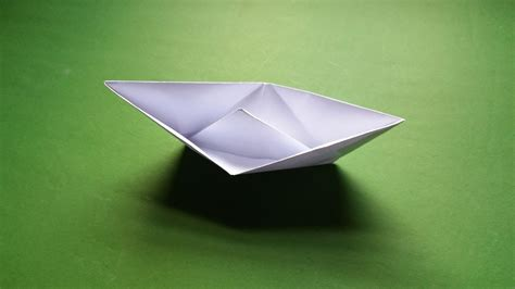 How To Make A Boat That Floats On Water by How To Make A Paper Boat That Floats In Water Easy