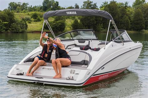 Yamaha Boats Shawnee Ok by New 2018 Yamaha Sx210 Power Boats Inboard In Shawnee Ok