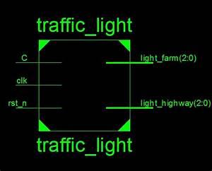 Verilog Code For Traffic Light Controller