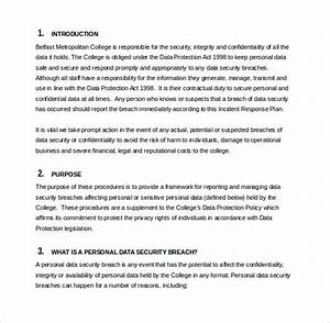 it incident response plan template - incident response plan template mobawallpaper