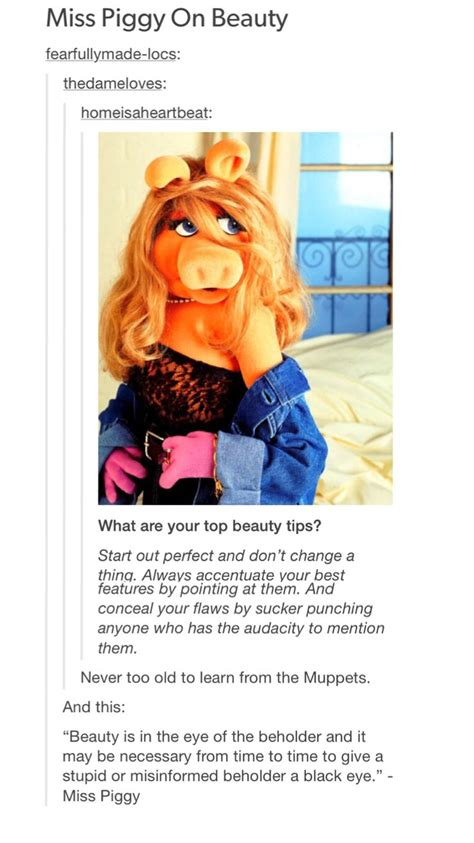 Ms Piggy Meme - 25 best miss piggy quotes on pinterest funny college humor funny music and shrek funny