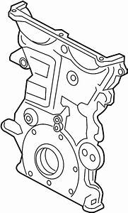 Chevrolet Cruze Engine Timing Cover  Front