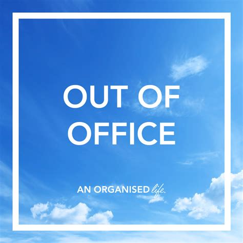 Out Of Office by Out Of Office An Organised