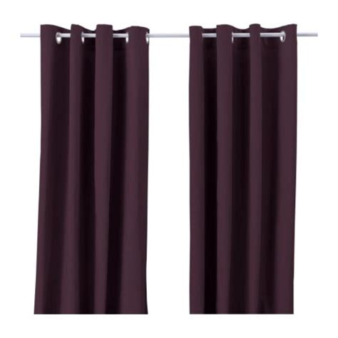 ikea merete brown curtains home furnishings kitchens appliances sofas beds