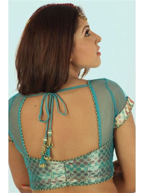 blouse designs and patterns for silk designer sarees