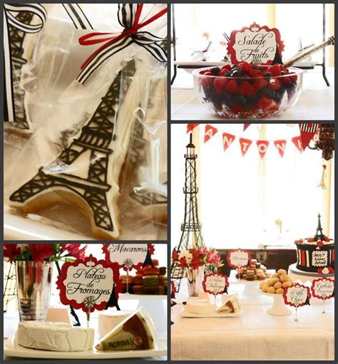 Kara's Party Ideas Parisian Birthday Party Planning Ideas