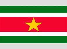 Surinam y su bandera oficial