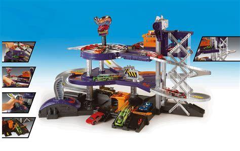 Wheel Garage by Mattel Wheels Mega Garage Playset Mattel V3260 Ebay