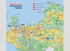 Tourist Map of Reykjavik