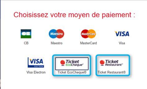 Carte Titre Restaurant Obligatoire by Ticket Restaurant