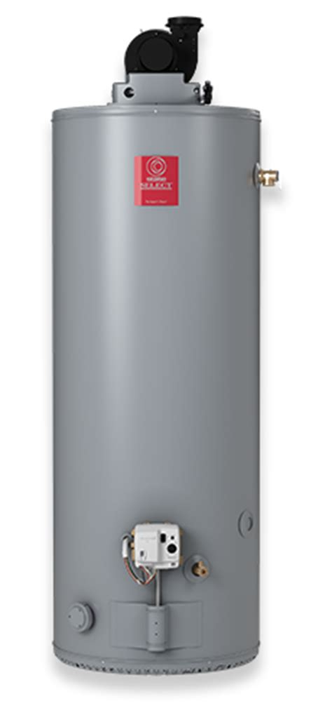 select power vent 50 gallon propane water heater