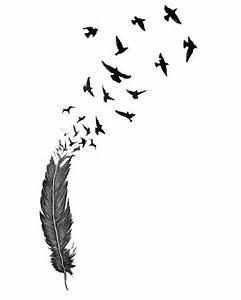 Pusteblume Schwarz Weiß Vögel : 41 tattoo vorlagen mit diversen motiven kostenlos ~ Orissabook.com Haus und Dekorationen