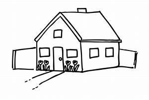 Best House Clipart Black and White #27217 - Clipartion.com
