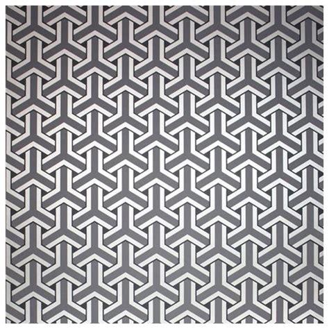 Tapisserie Gris Argent by Papier Peint Motifs Gris Anthracite Et Argent Trifid