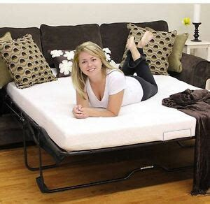 Replacement Mattress For Sofa Sleeper by Sleeper Sofa Mattress Replacement Memory Foam Size