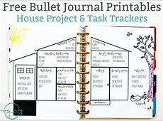 Bullet Journal Inspired Free Printables Available in