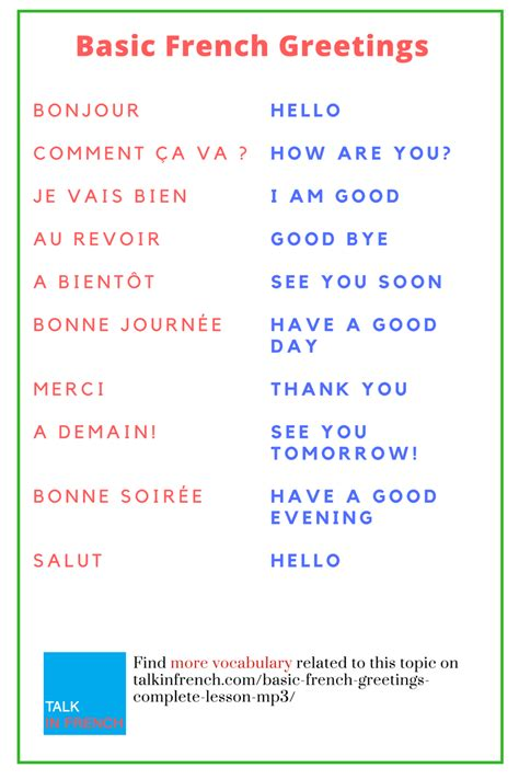 basic french  complete lesson  mp