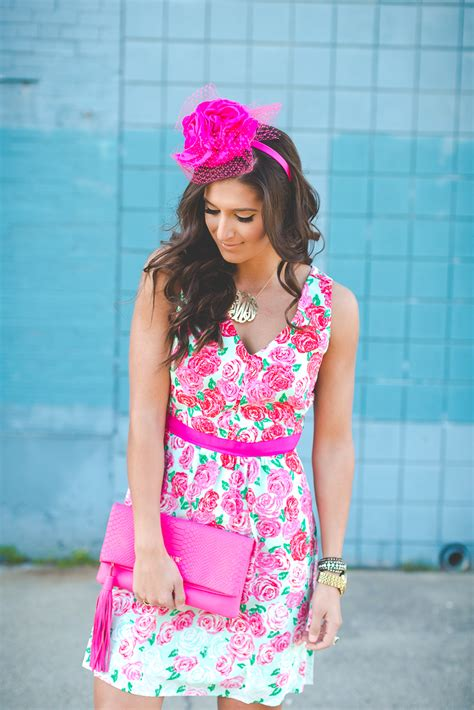 Kentucky Derby Run for the Roses Dress | A Southern Drawl