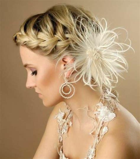 Coiffure Mariage Cheveux Mi Longs Photo Coiffures Mariage Cheveux Mi Longs Tresse Avec Chignon