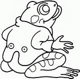 Frog Coloring Pages Frogs Printable Outline Sheet Tree Sheets Animal Clipart Wearing Colouring Wildlife Spots Bestcoloringpagesforkids sketch template