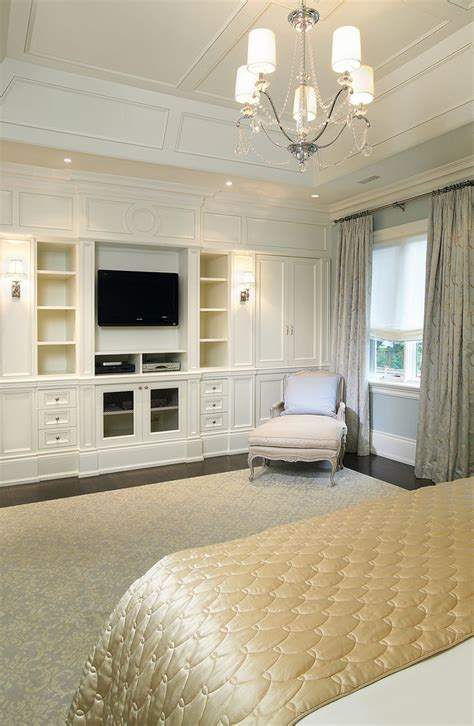 bedroom wall unit Bedroom Traditional with area rug built