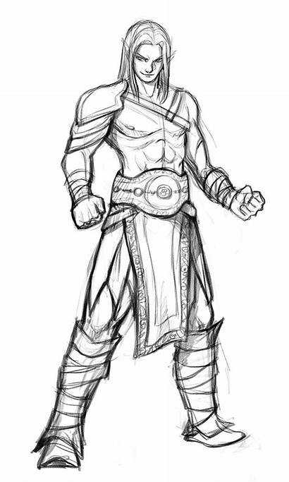 Gladiator Drow Male Deviantart Gladiators Commission Fantasy