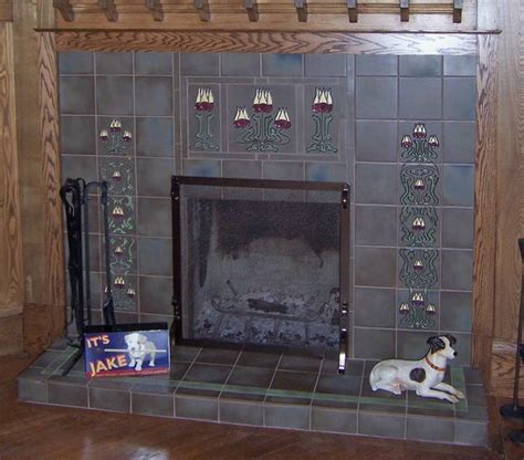 antique fireplace tiles the awesome of fireplace tiles design tedx decors