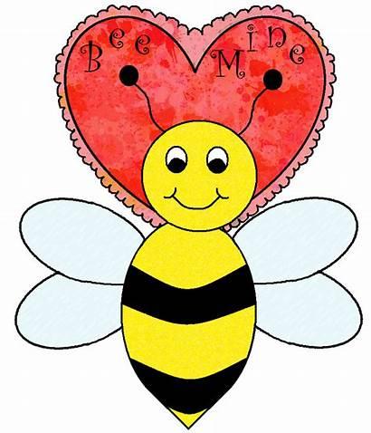 Valentine Clip Bee Clipart Valentines Graphics Inspirationseek