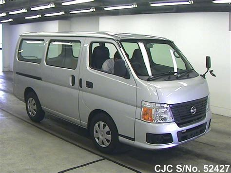 nissan caravan 2011 nissan caravan silver for sale stock no 52427