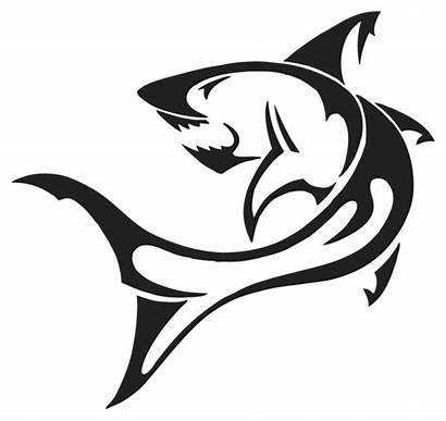 Shark Tattoo Silhouette Transparent Requin Flash Tribal