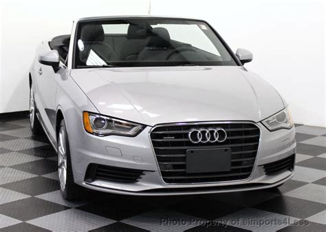 2015 Used Audi A3 Cabriolet Certified A3 2.0t Quattro Awd