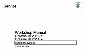 Skoda Octavia Iii 2013  Octavia Iii 2014 Electrical System