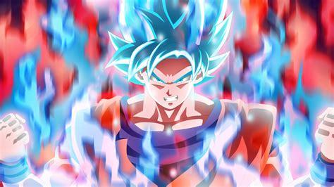 Blue Eyes White Dragon Background Wallpaper Goku Dragon Ball Super 5k Anime 6916