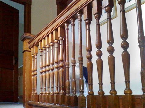wood banisters how to install wood balusters loccie better homes