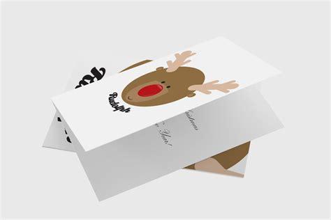 xmas templates rudolph head christmas card