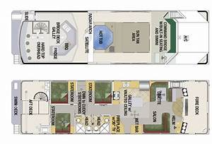 Custom houseboat sales and manufacturing floorplans for Custom houseboat floor plans