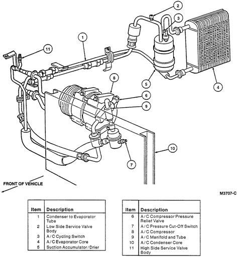 Ford Taurus Air Conditioning Parts Diagram Html