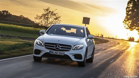 New 2019 mercedes benz e class e 450 sport coupe in white plains. 2019 Mercedes-Benz E 300 de Diesel Plug-in Hybrid Sedan (Color: Diamond White Metallic) - Front ...