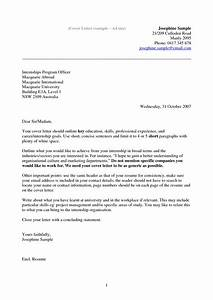 example of cover letter for resume template With how to wirte a cover letter